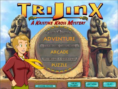 TriJinx: A Kristine Kross Mystery™