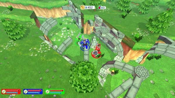 скриншот Questria: Rise of the Robot Skullfaces 1