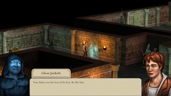 Screenshot of Hero-U: Rogue to Redemption