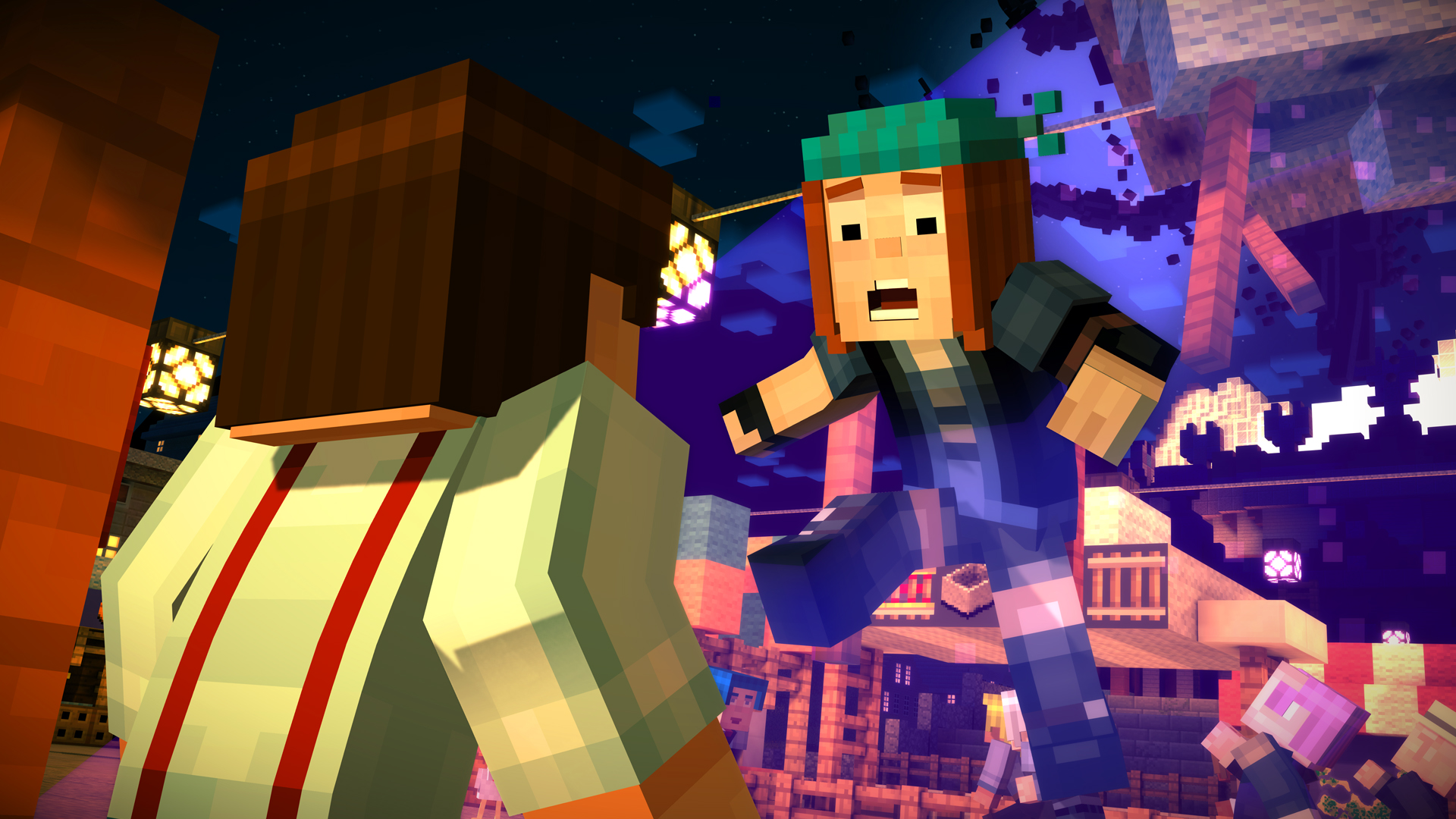 Minecraft Story Mode A Telltale Games Series On Steam - Minecraft kostenlos spielen und downloaden