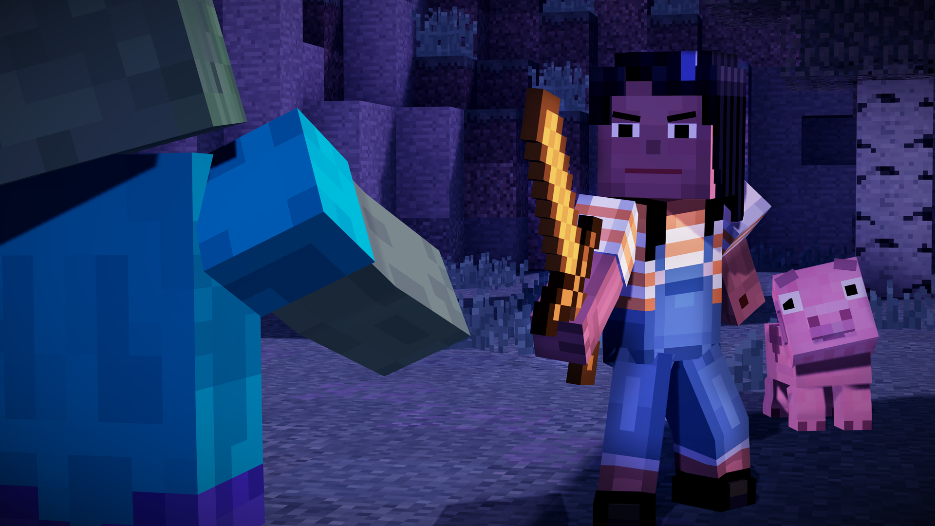 Minecraft Story Mode A Telltale Games Series On Steam - Minecraft online spielen kostenlos download