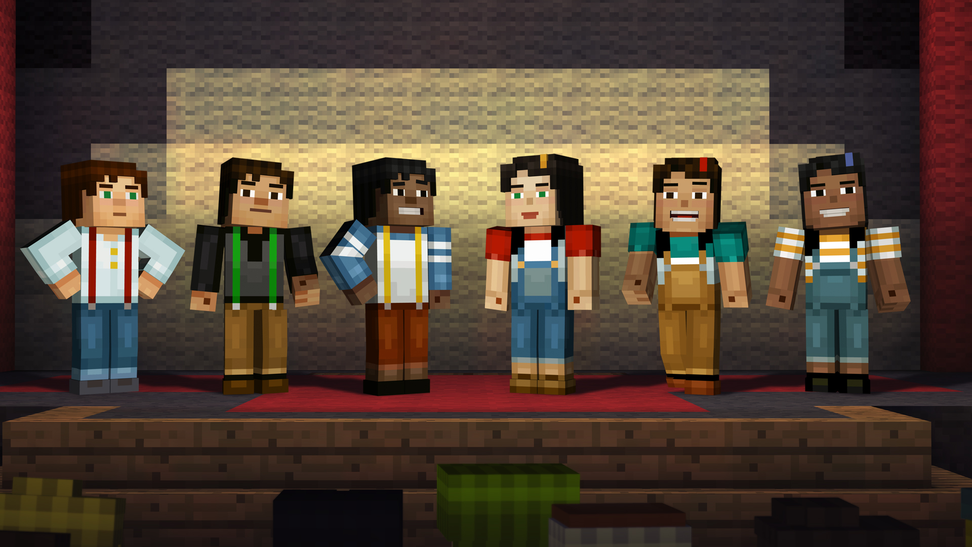Minecraft Story Mode A Telltale Games Series On Steam - Minecraft spiele anschauen