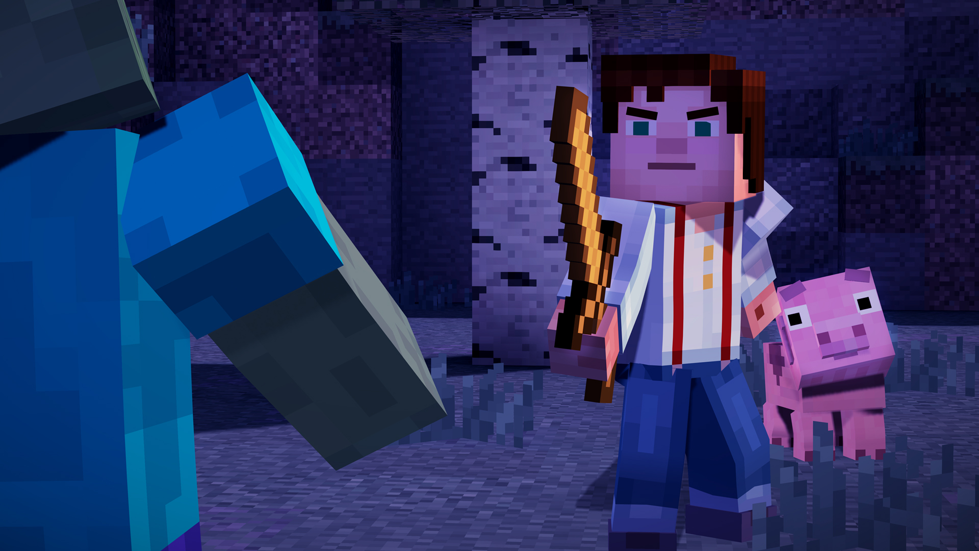 Minecraft Story Mode A Telltale Games Series On Steam - Minecraft pc spiele kaufen