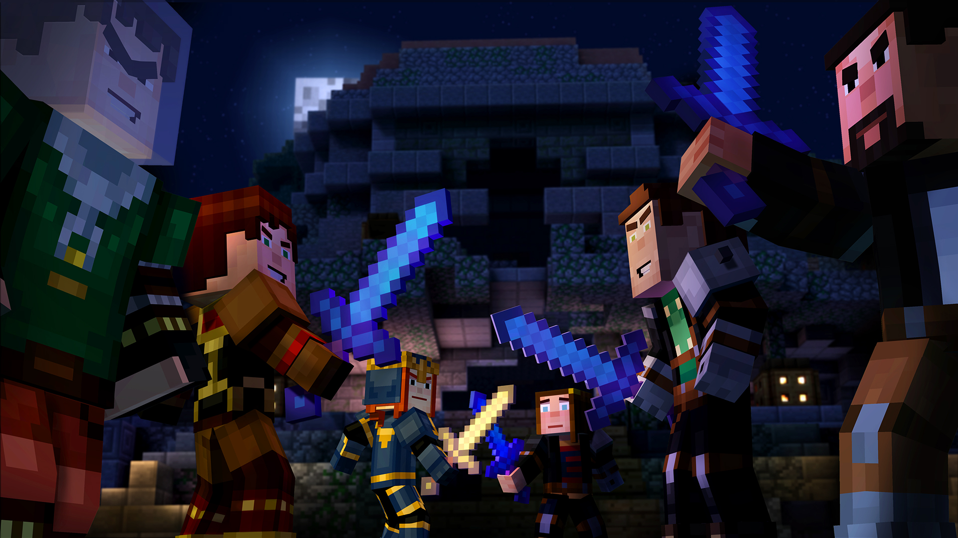 Minecraft Story Mode A Telltale Games Series On Steam - Minecraft auf imac spielen