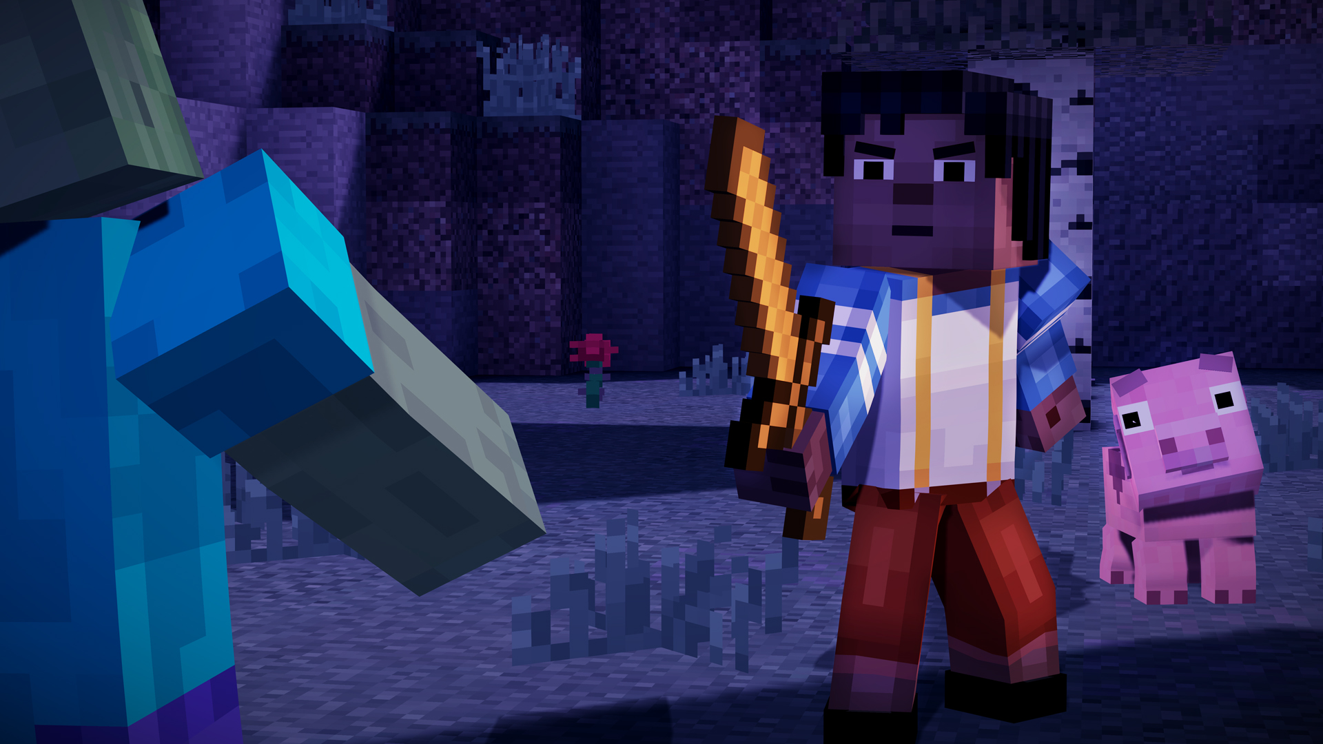 Minecraft Story Mode A Telltale Games Series On Steam - Minecraft ender games kostenlos spielen