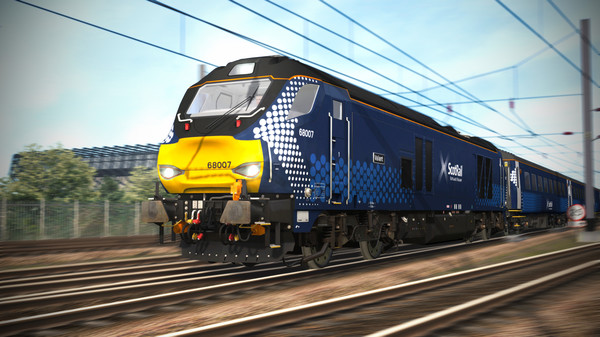скриншот Train Simulator: ScotRail Class 68 Loco Add-on 5