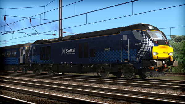 скриншот Train Simulator: ScotRail Class 68 Loco Add-on 1
