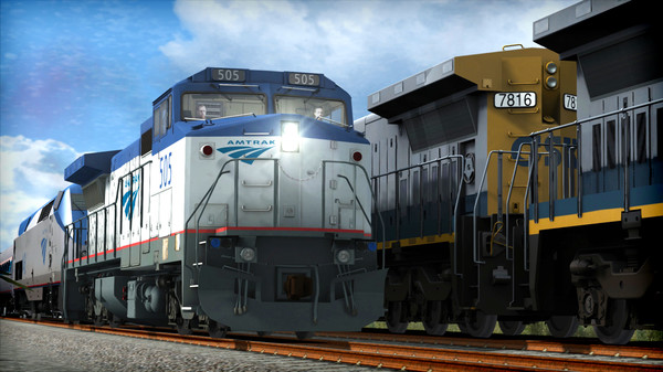 скриншот Train Simulator: Amtrak Dash 8-32BWH Loco Add-On 2