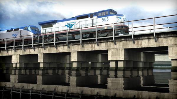 скриншот Train Simulator: Amtrak Dash 8-32BWH Loco Add-On 0
