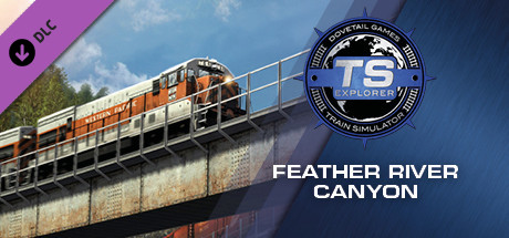Train Simulator: Feather River Canyon Route Add-On