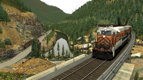 скриншот Train Simulator: Feather River Canyon Route Add-On 5