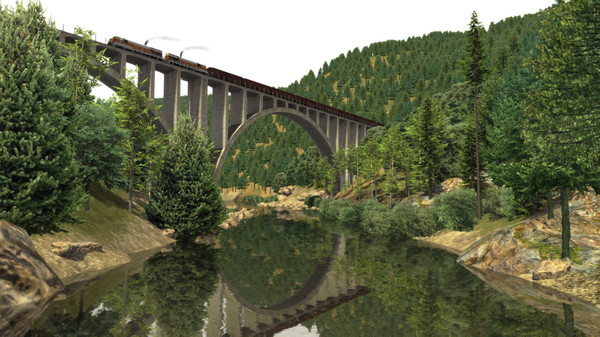 скриншот Train Simulator: Feather River Canyon Route Add-On 3