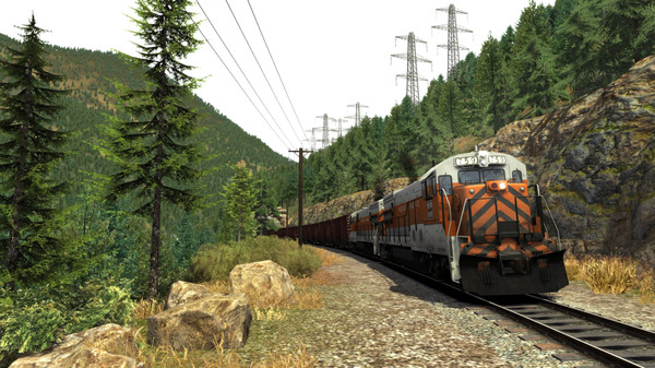скриншот Train Simulator: Feather River Canyon Route Add-On 4