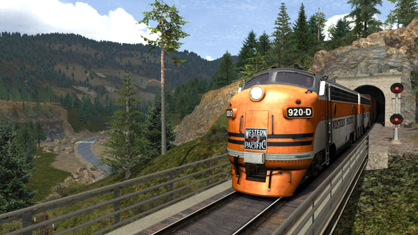 скриншот Train Simulator: Feather River Canyon Route Add-On 2