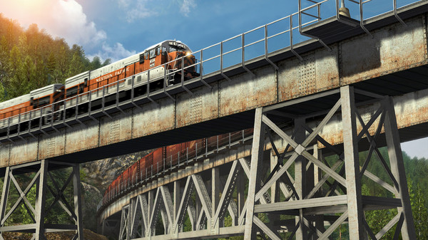 скриншот Train Simulator: Feather River Canyon Route Add-On 0