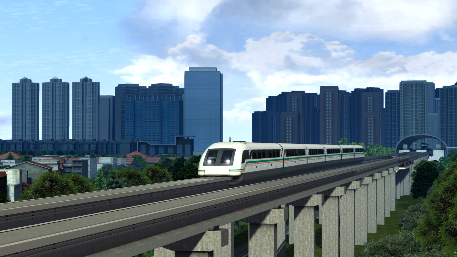 Train Simulator: Shanghai Maglev 2016 pc game Img-3