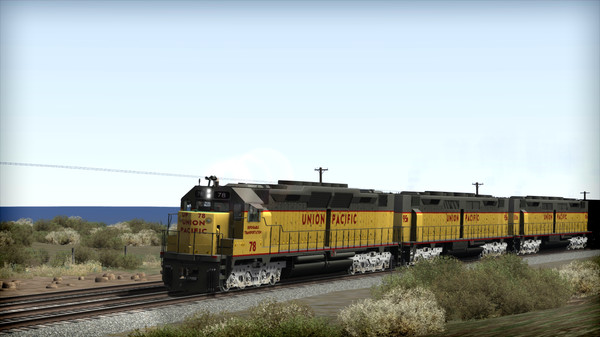 скриншот Train Simulator: Union Pacific DD35 Add-On 0