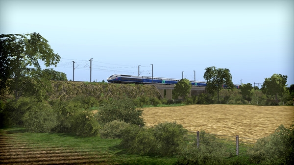 скриншот Train Simulator: LGV: Marseille - Avignon Route Add-On 5