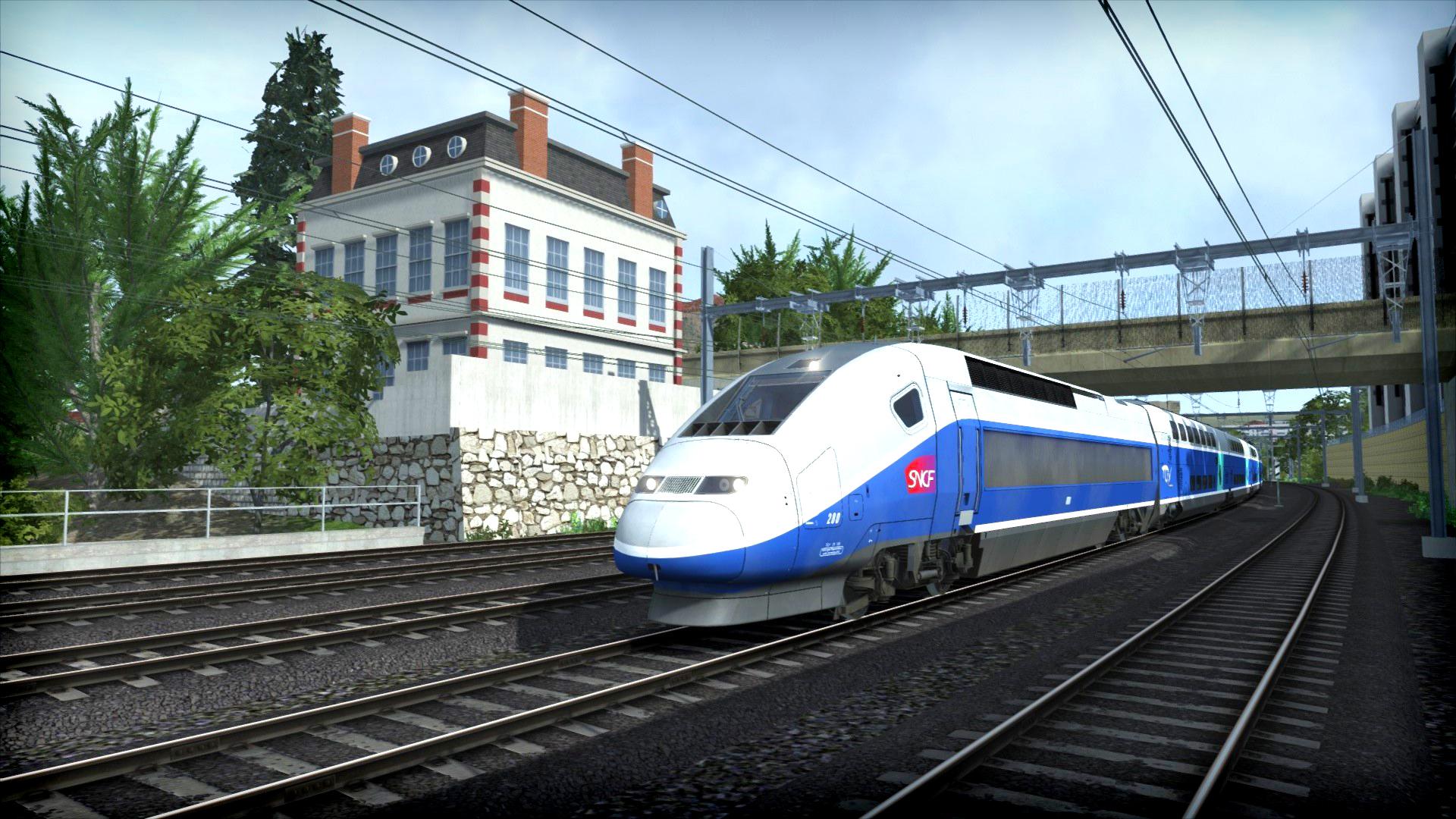 train simulator lgv marseille avignon route add on on steam. Black Bedroom Furniture Sets. Home Design Ideas