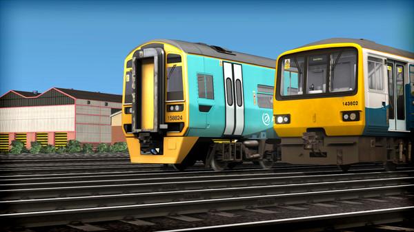скриншот Train Simulator: Arriva Trains Wales DMU Pack Add-On 2