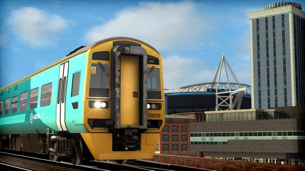 скриншот Train Simulator: Arriva Trains Wales DMU Pack Add-On 4