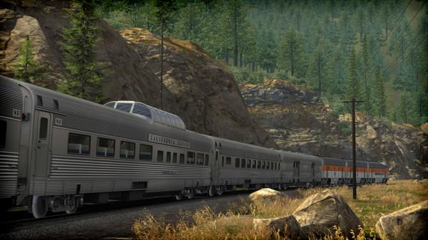 скриншот Train Simulator: Western Pacific FP7 'California Zephyr' Loco Add-On 5