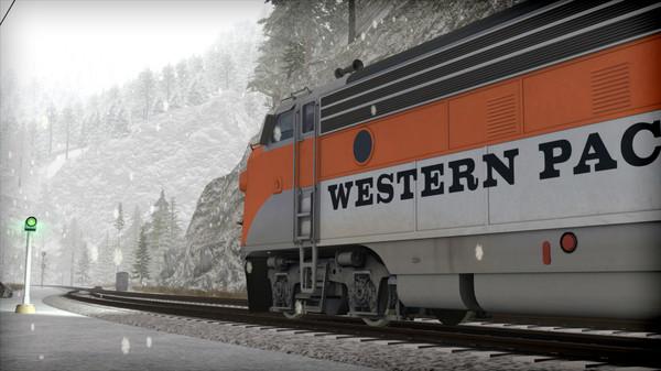 скриншот Train Simulator: Western Pacific FP7 'California Zephyr' Loco Add-On 2