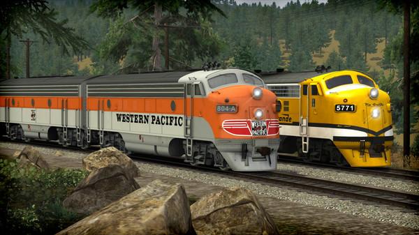 скриншот Train Simulator: Western Pacific FP7 'California Zephyr' Loco Add-On 4