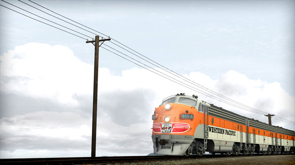 скриншот Train Simulator: Western Pacific FP7 'California Zephyr' Loco Add-On 0
