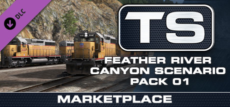 TS Marketplace: Feather River Canyon Scenario Pack 01
