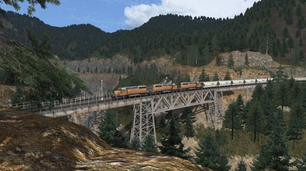 скриншот TS Marketplace: Feather River Canyon Scenario Pack 01 5