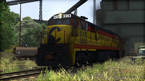 скриншот Train Simulator: Chessie System U30C Loco Add-On 4