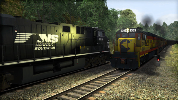 скриншот Train Simulator: Chessie System U30C Loco Add-On 5