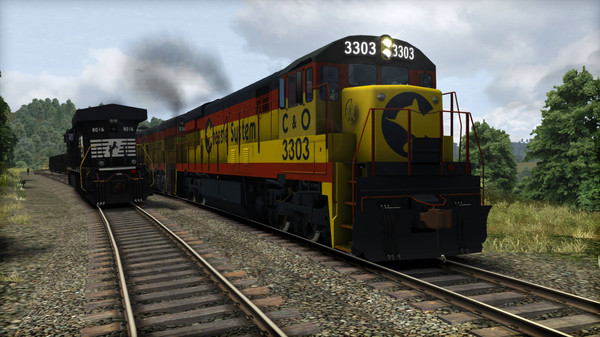 скриншот Train Simulator: Chessie System U30C Loco Add-On 3