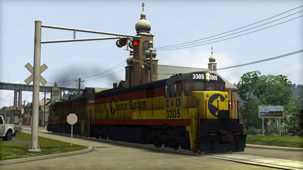 скриншот Train Simulator: Chessie System U30C Loco Add-On 0