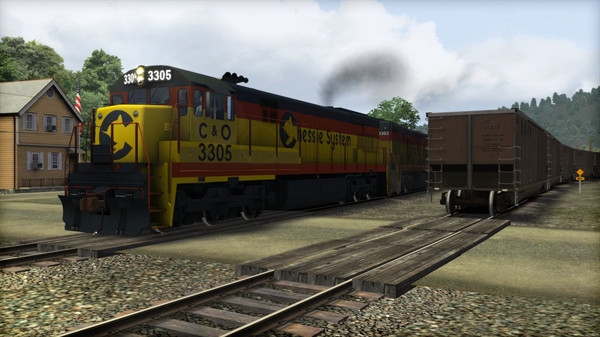 скриншот Train Simulator: Chessie System U30C Loco Add-On 2