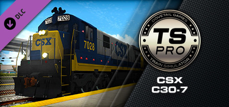 Train Simulator: CSX C30-7 Loco Add-On on Steam