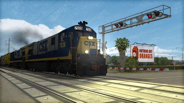 скриншот Train Simulator: CSX C30-7 Loco Add-On 5