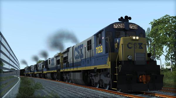 скриншот Train Simulator: CSX C30-7 Loco Add-On 2
