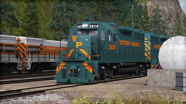 скриншот Train Simulator: Western Pacific GP35 Add-On 4