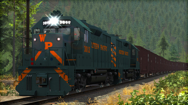 скриншот Train Simulator: Western Pacific GP35 Add-On 2