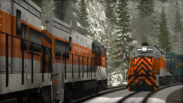 скриншот Train Simulator: Western Pacific GP35 Add-On 1