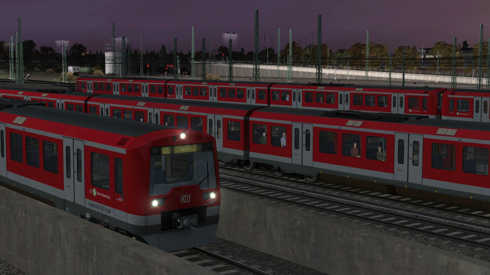 Train Simulator Hamburg S1 S Bahn Route Add On On Steam