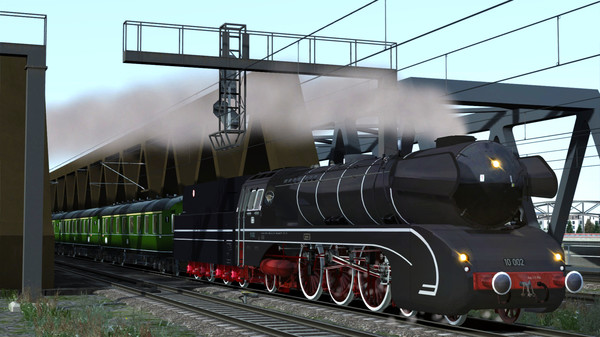 скриншот Train Simulator: DB BR 10 Steam Loco Add-On 4