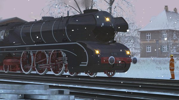 скриншот Train Simulator: DB BR 10 Steam Loco Add-On 5