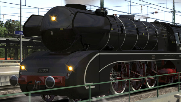 скриншот Train Simulator: DB BR 10 Steam Loco Add-On 0