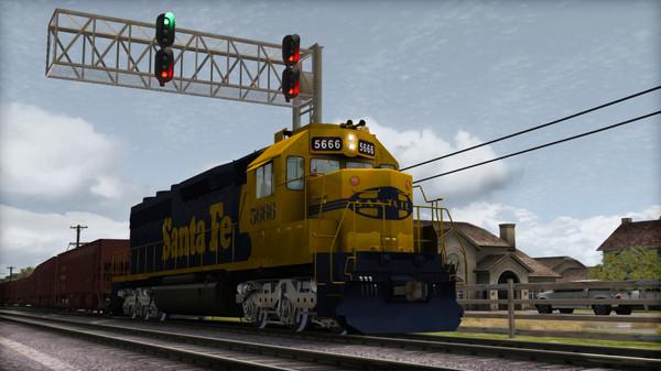 скриншот Train Simulator: AT&SF SD45-2 Loco Add-On 4