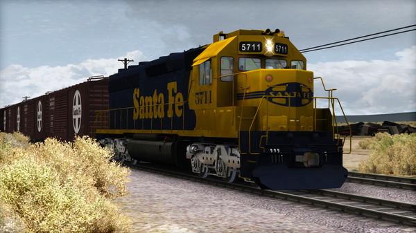 скриншот Train Simulator: AT&SF SD45-2 Loco Add-On 1