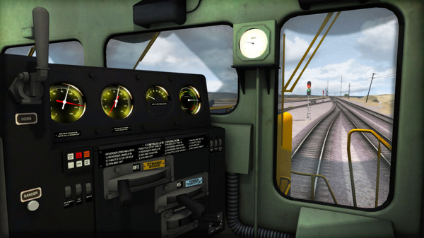скриншот Train Simulator: AT&SF SD45-2 Loco Add-On 5