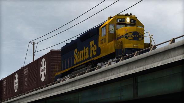 скриншот Train Simulator: AT&SF SD45-2 Loco Add-On 3